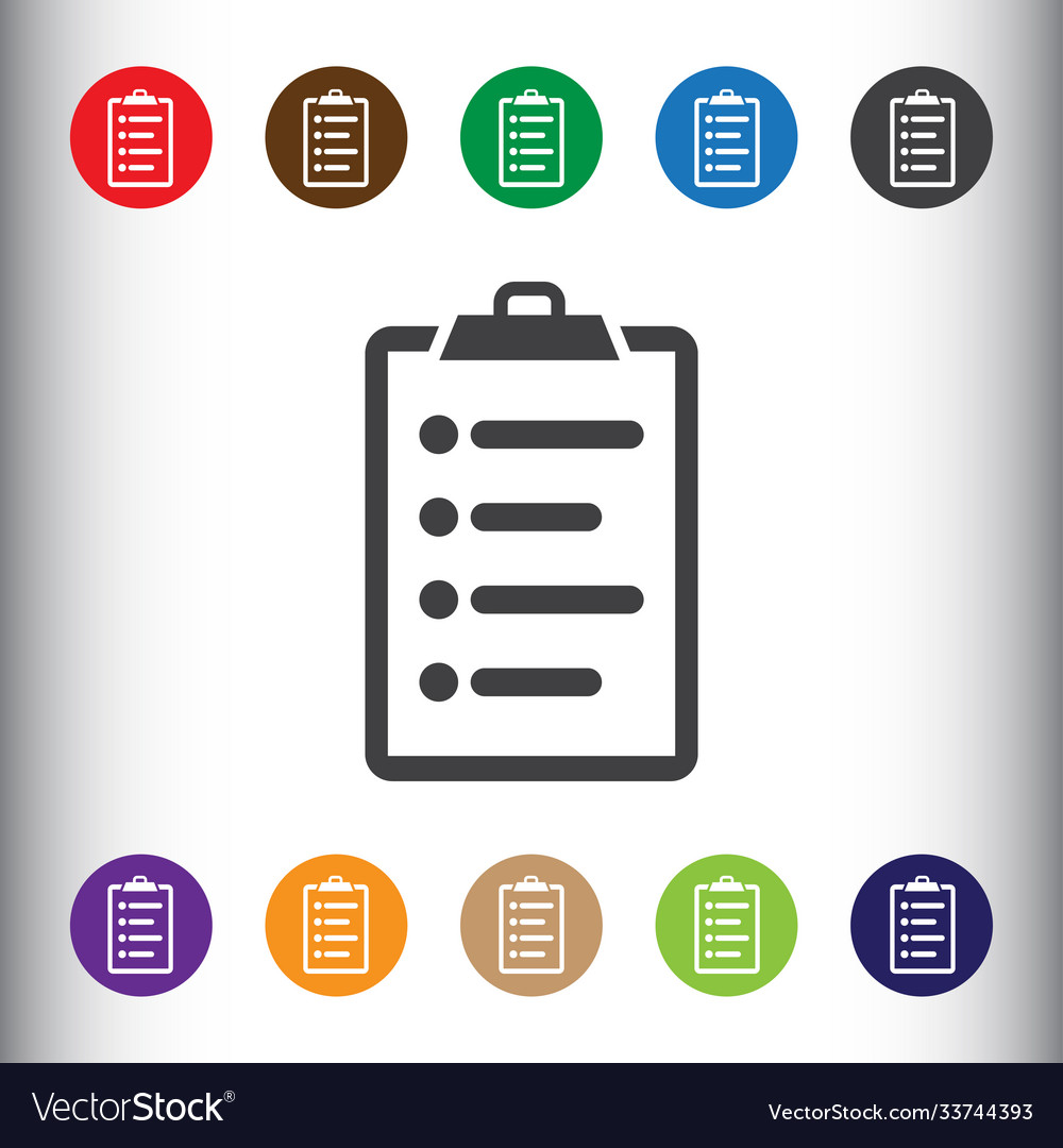 Document form blank icon sign icon form