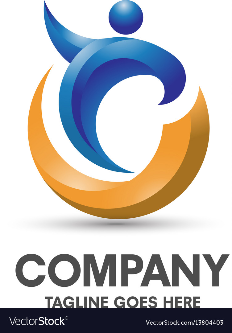 Coaching health and fitness logo