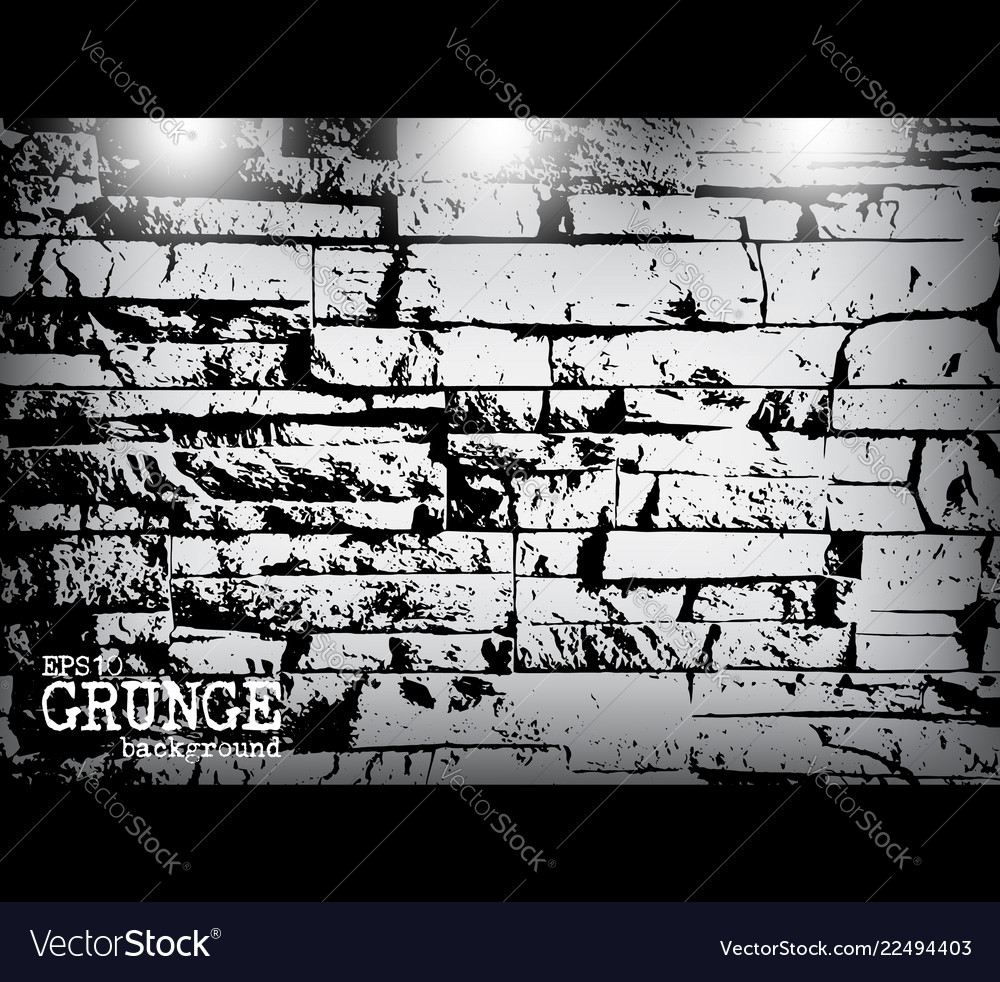 Grunge style modern brick wall texture and