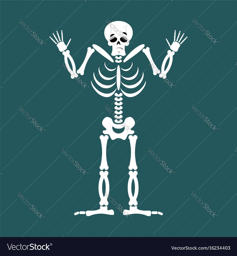 Skeleton surprised emoji skull astonished emotion