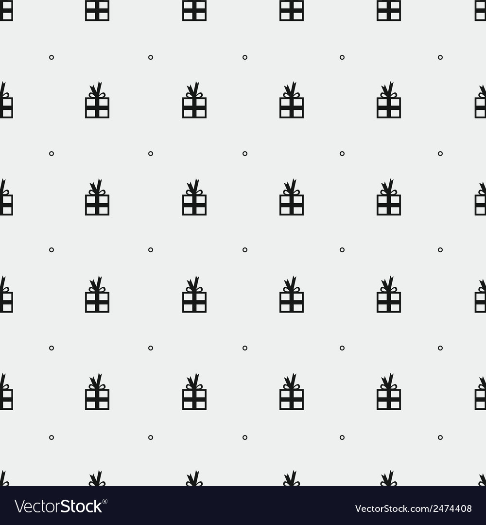 Presents pattern vector image