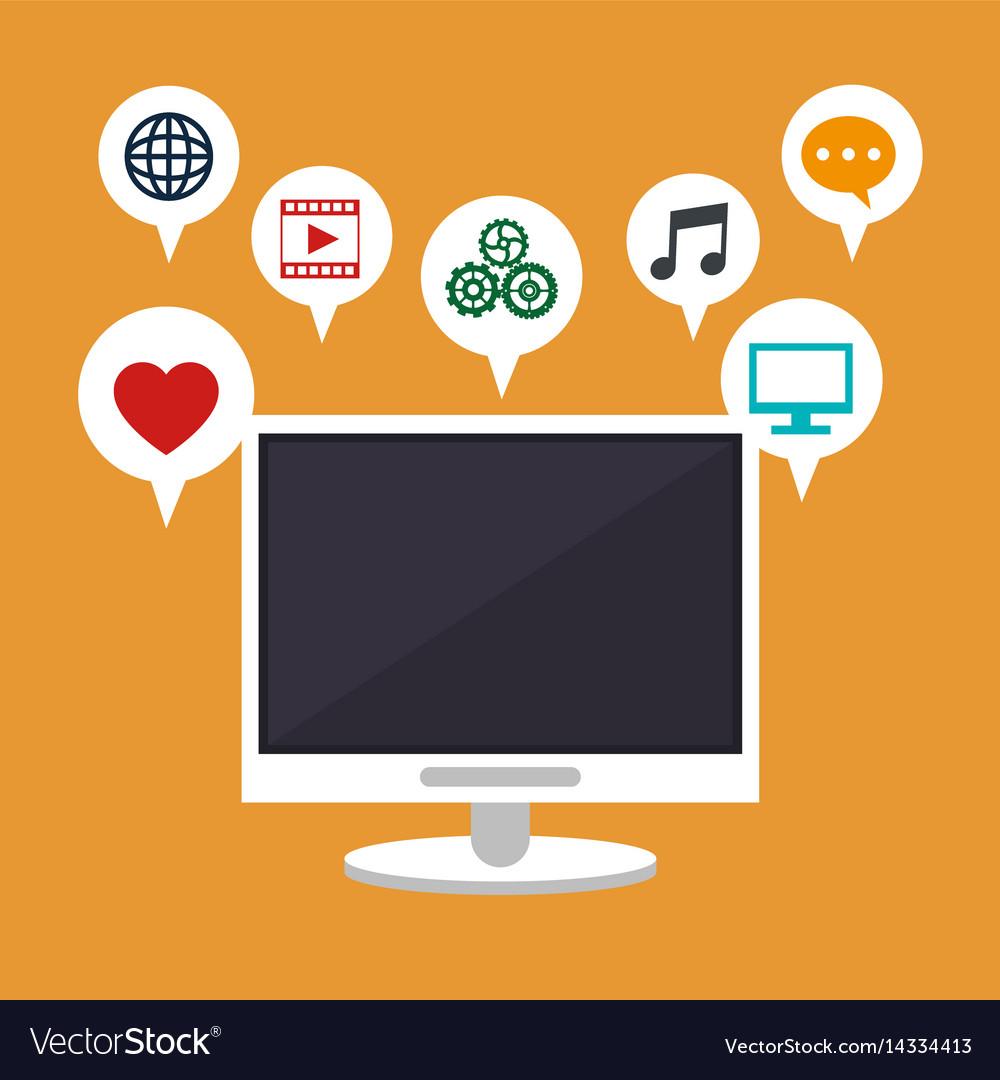 Computer technology social media apps