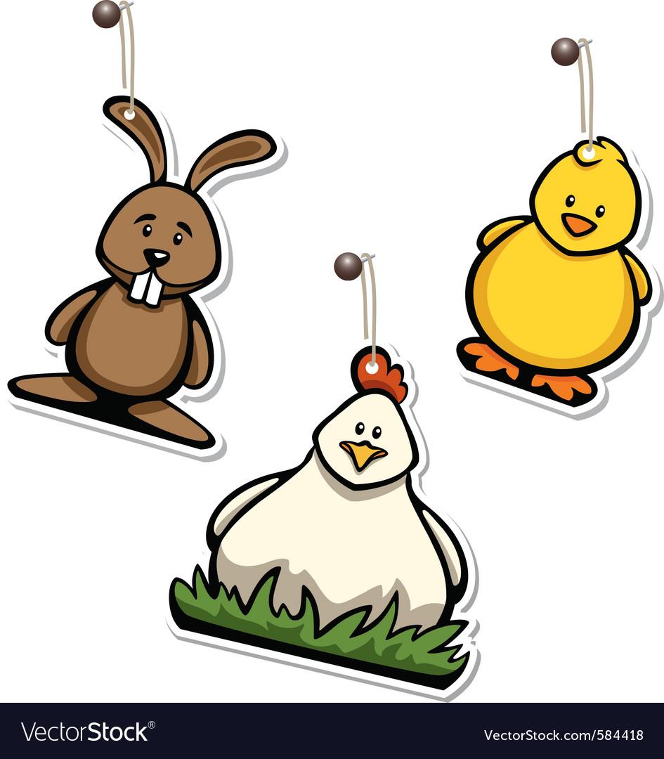 Easter hangtags