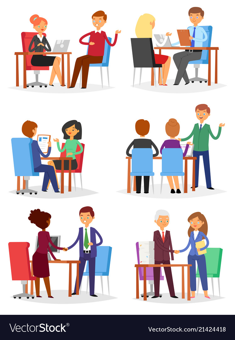 Interview interviewed people on business