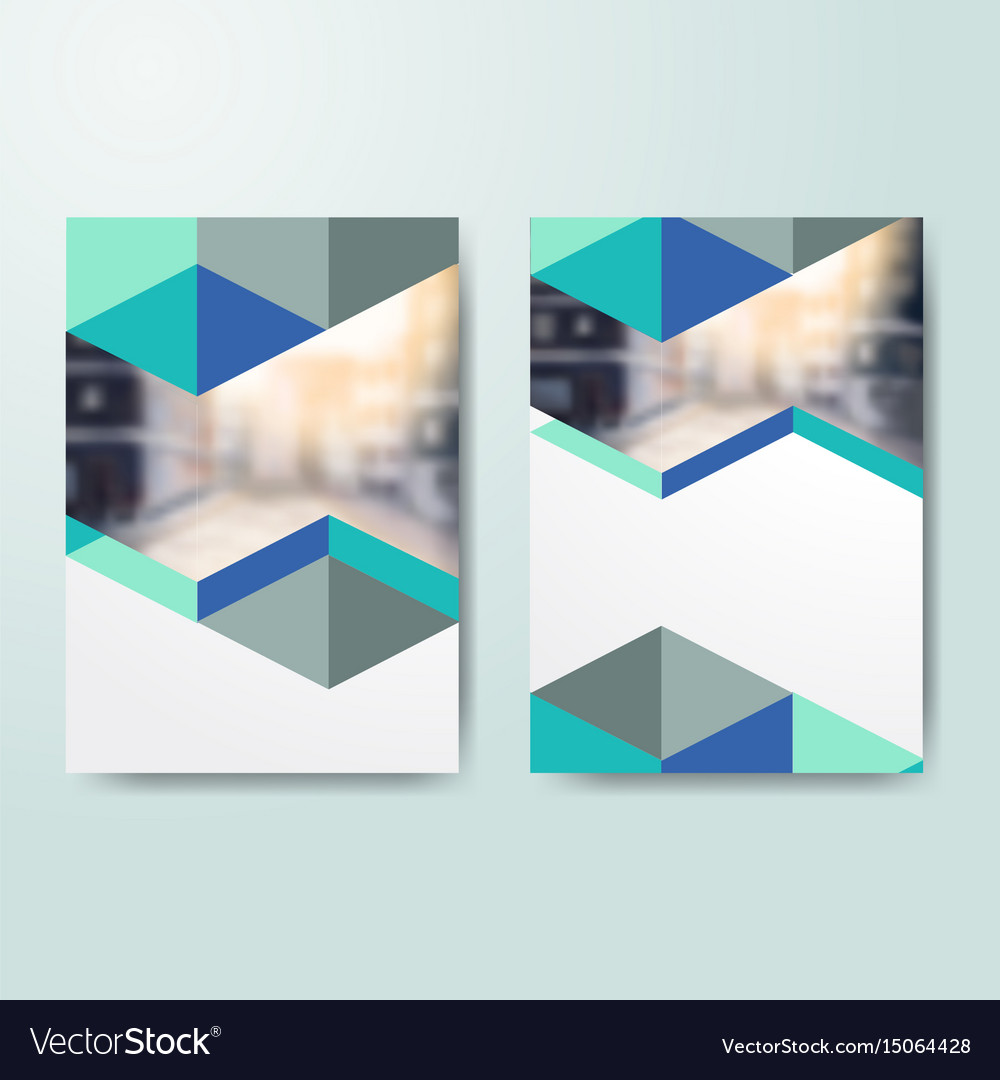business book cover design template in a4 vector image