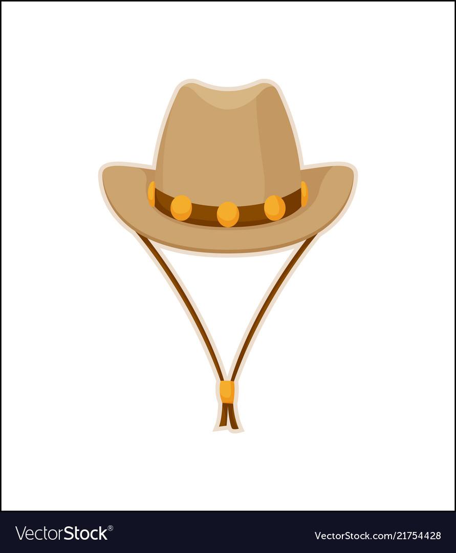 Cowboy hat american style headwear icon