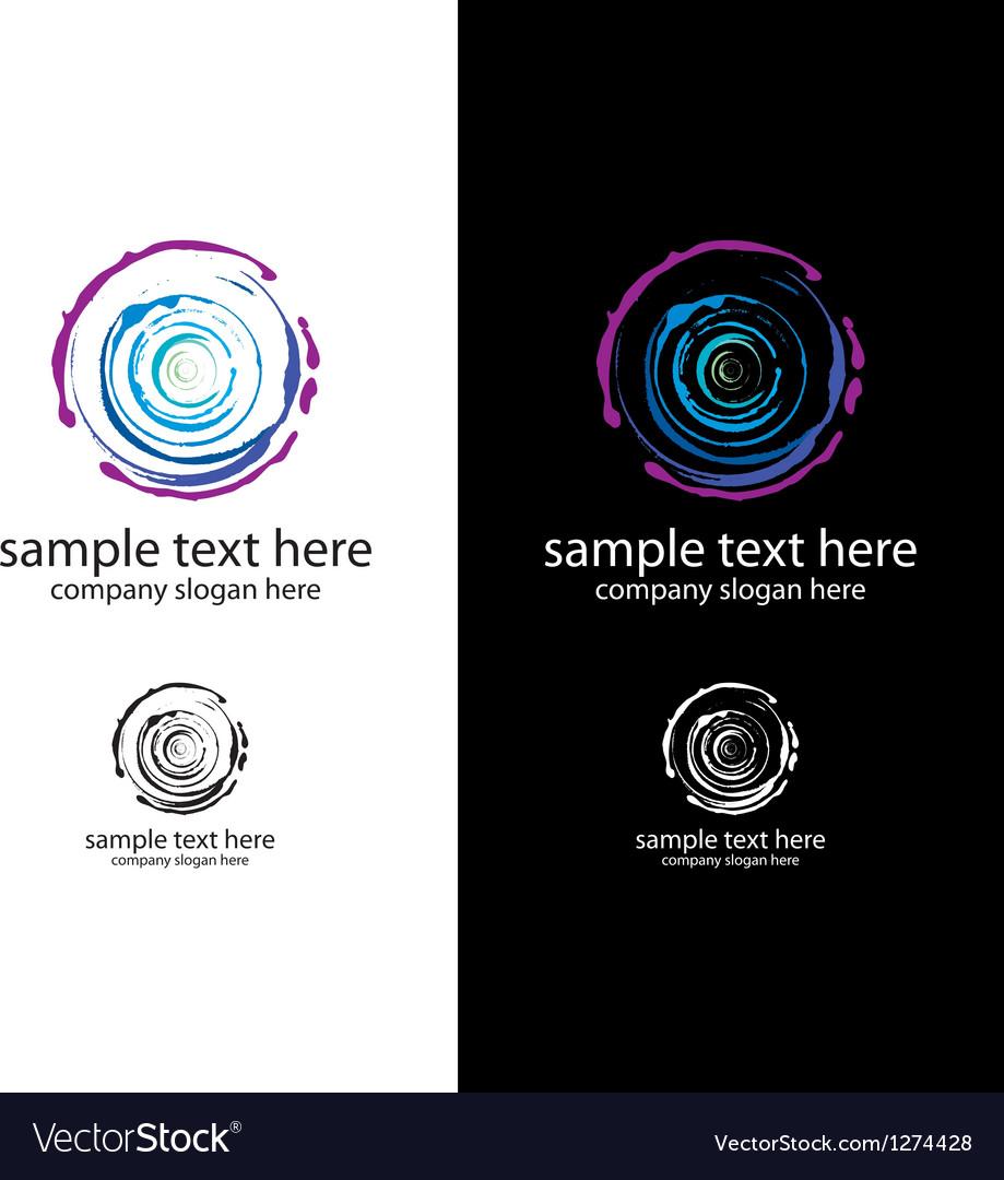 Logo art salon vector image