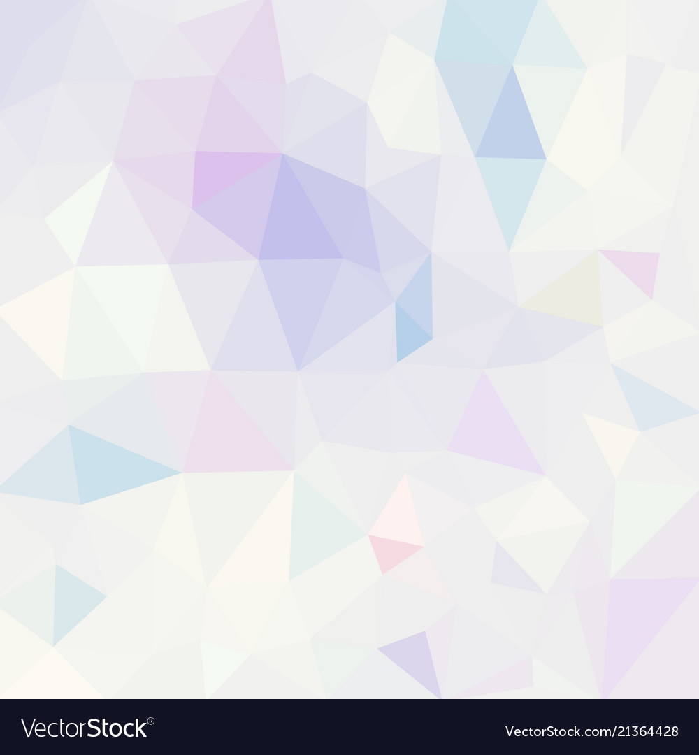 Polygonal mosaic background in pastel colors