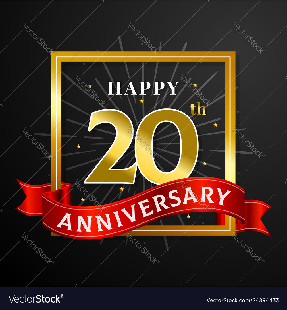 Image result for happy 20th anniversary