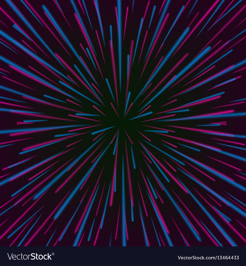 Space vortex abstract background with star