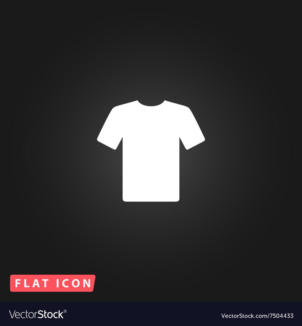 Tshirt flat icon