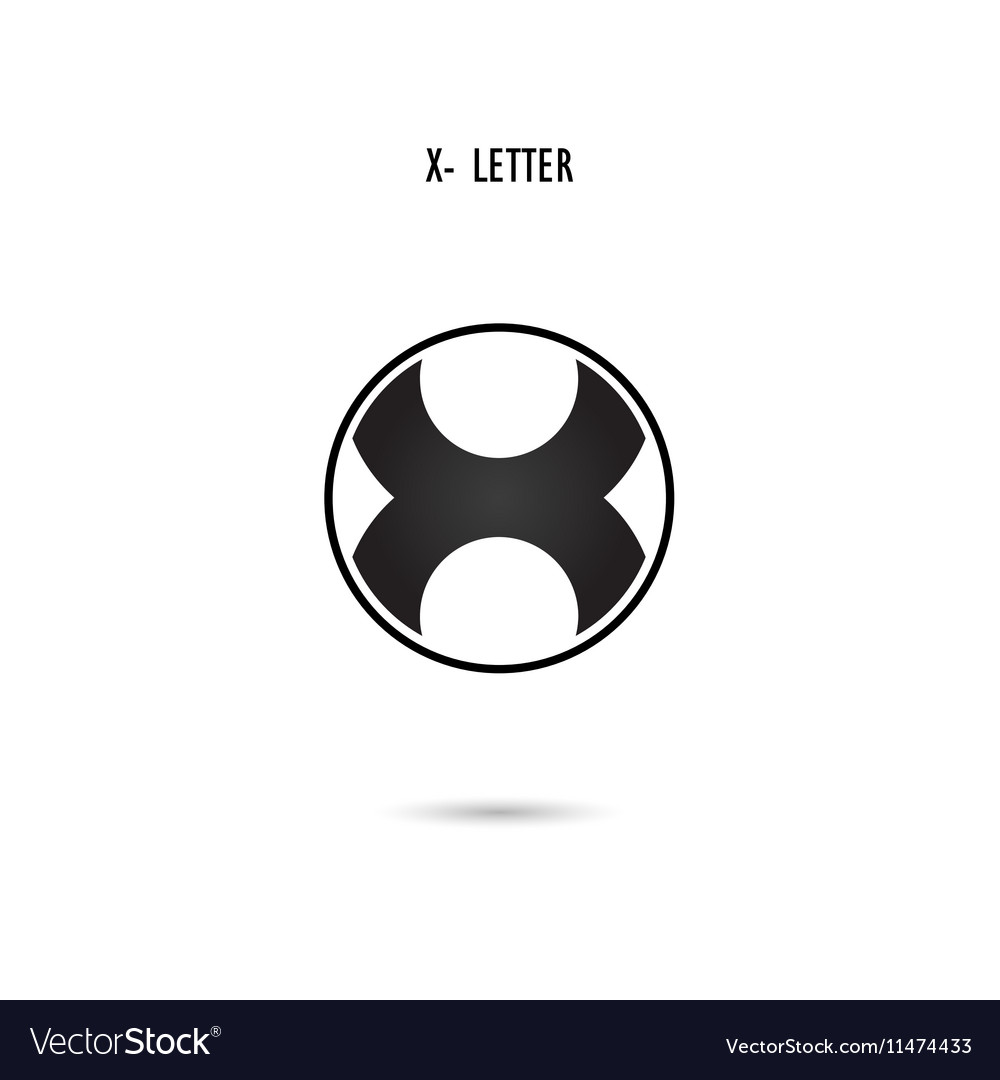 X-letter abstract logo