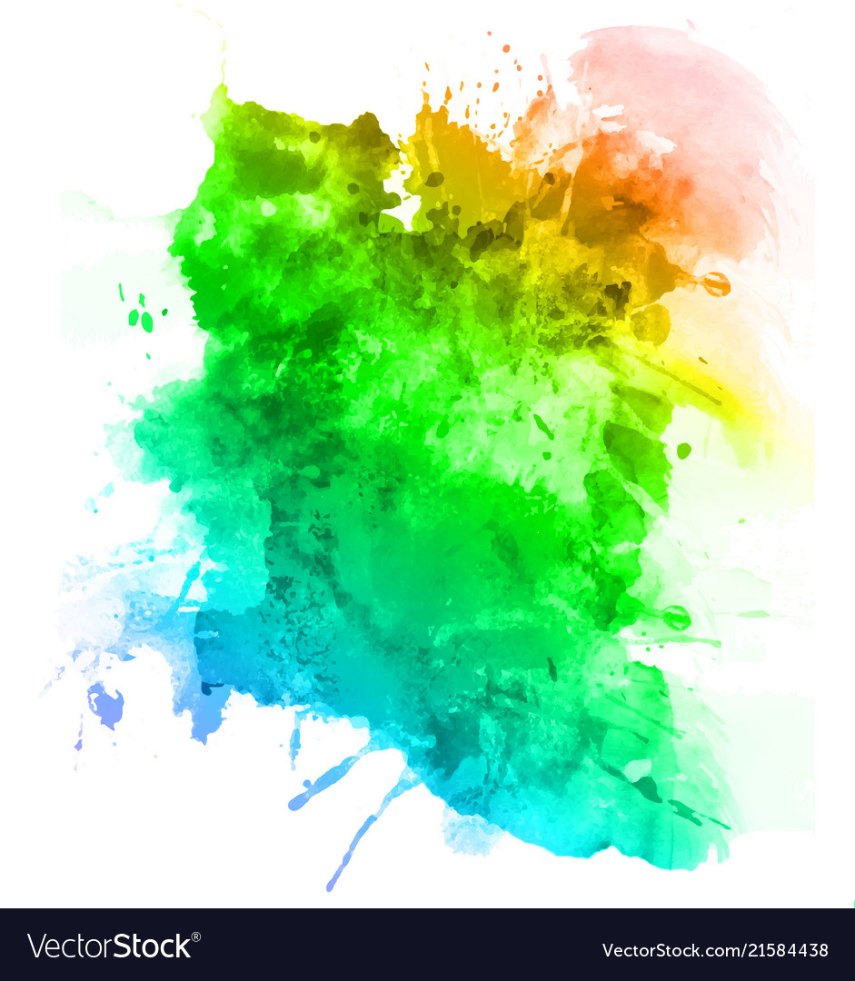 Abstract watercolor paint art background
