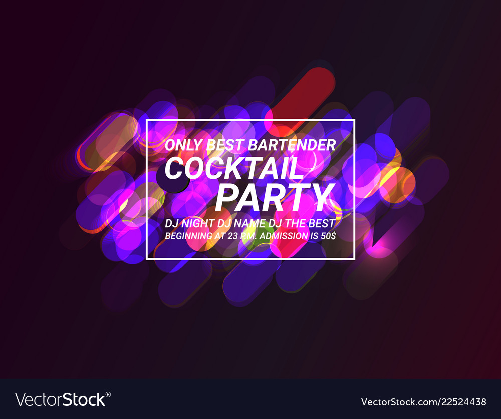 Creative abstract or party flyer