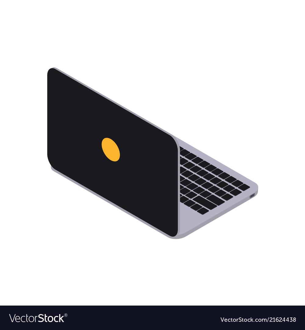 Laptop isometry icon