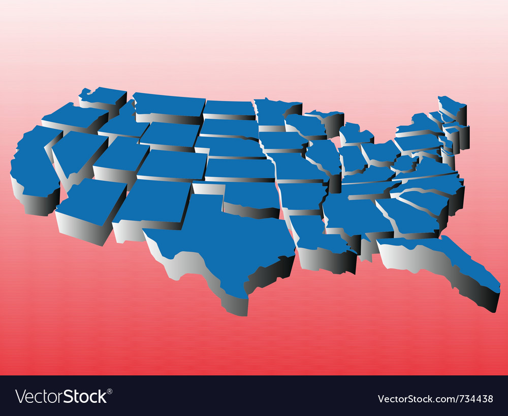 Map of united states puzzle royalty free vector image map of united states puzzle vector image gumiabroncs Images