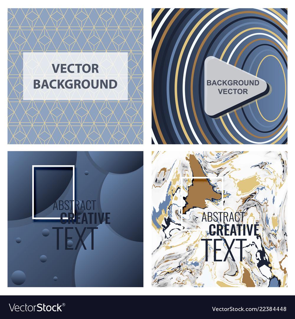 Modern abstract circle geometric design pattern