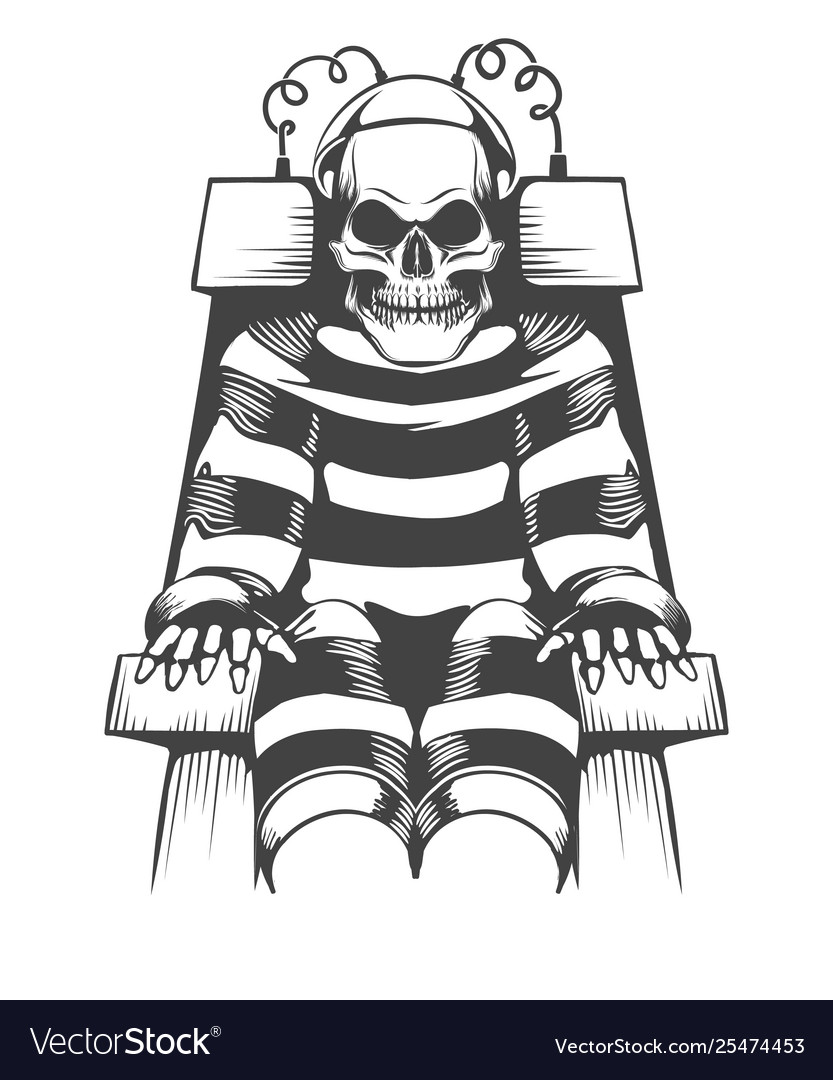 Get Skeleton Sitting In Chair Drawing Pics