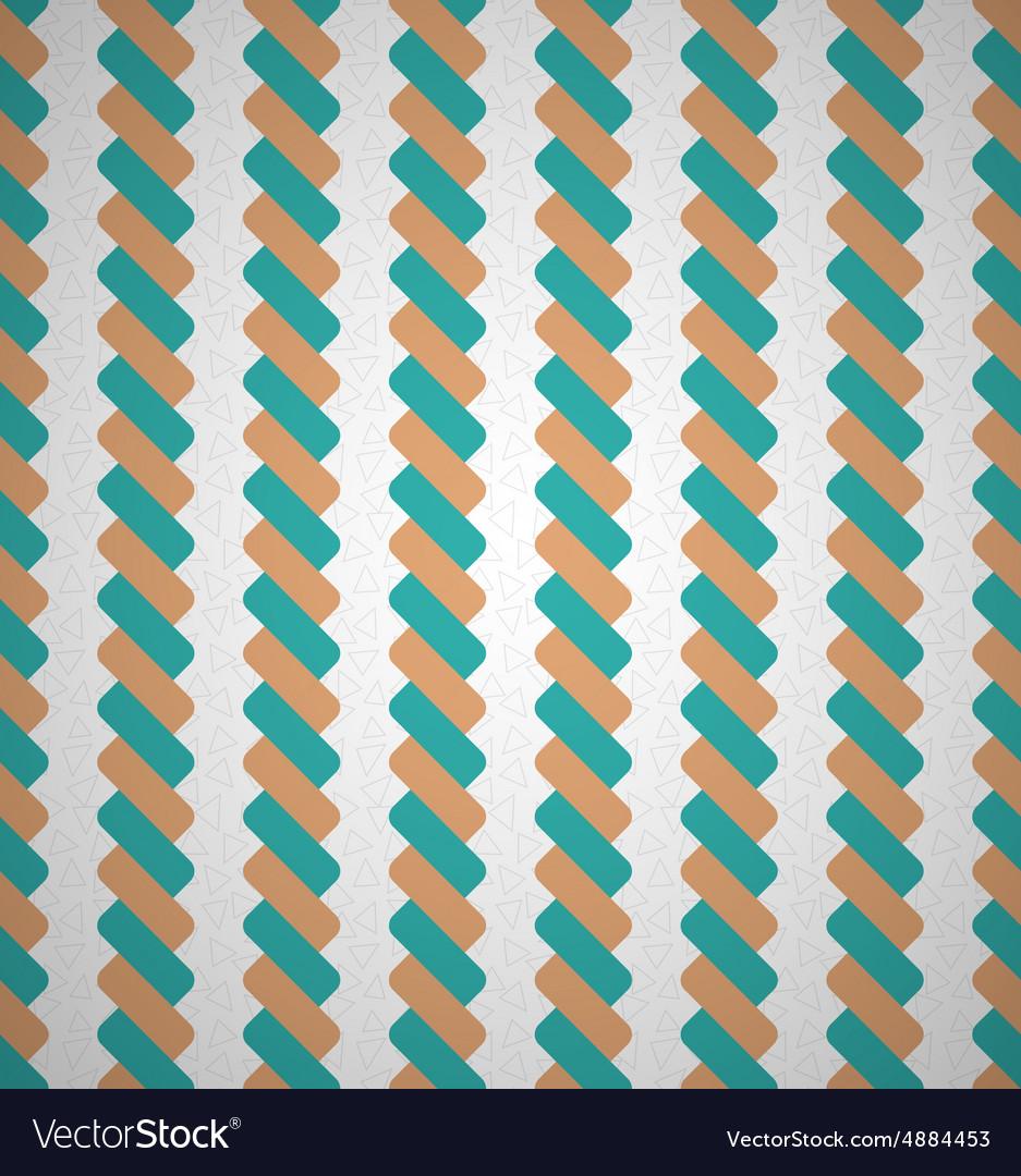Seamless Vintage Geometric Ropes Retro Lines