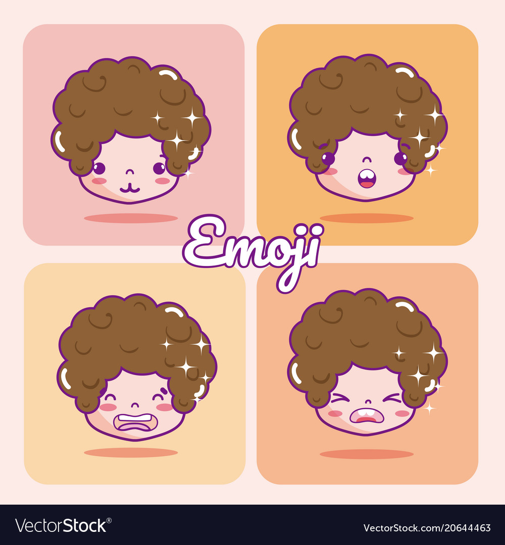 Cute boy emojis
