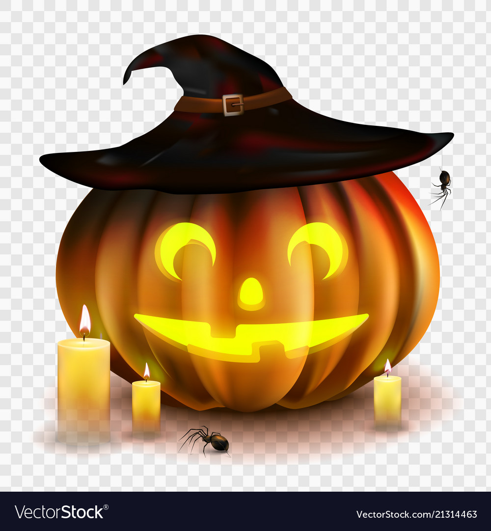 Halloween Pumpkin Vector.Stock Halloween Pumpkin