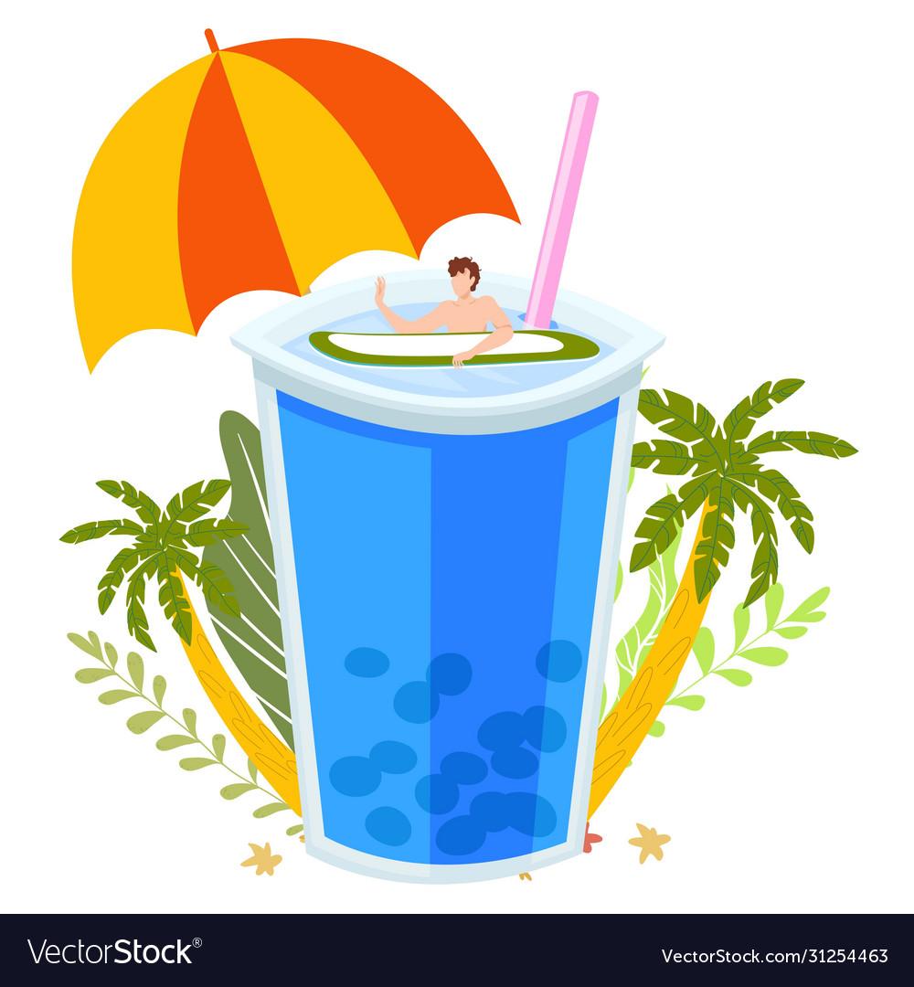 Summer tropical vacation beach bar concept sea