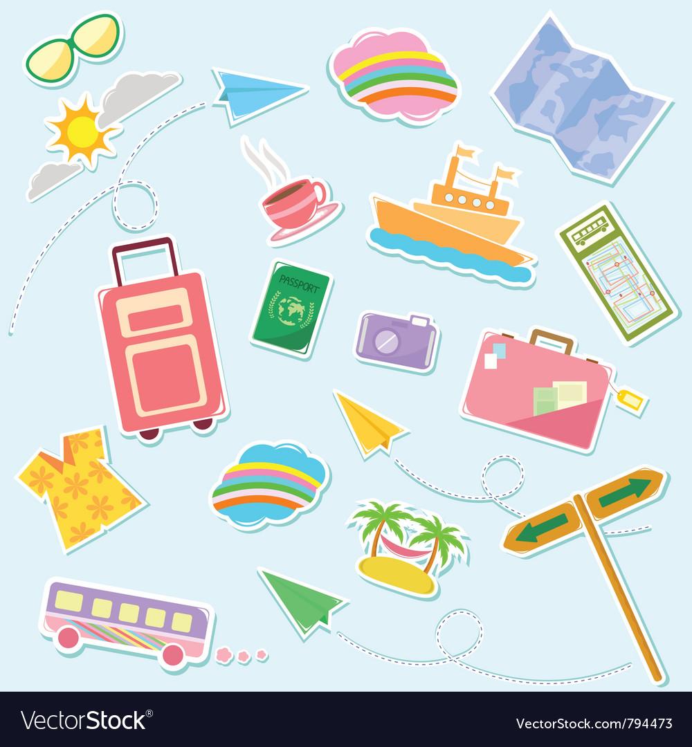 Travel symbols
