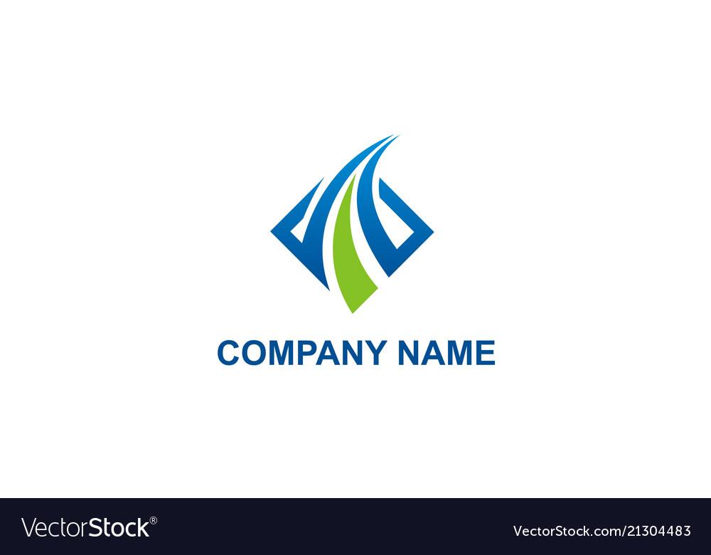 Business Finance Company Logo Royalty Free Vector Image