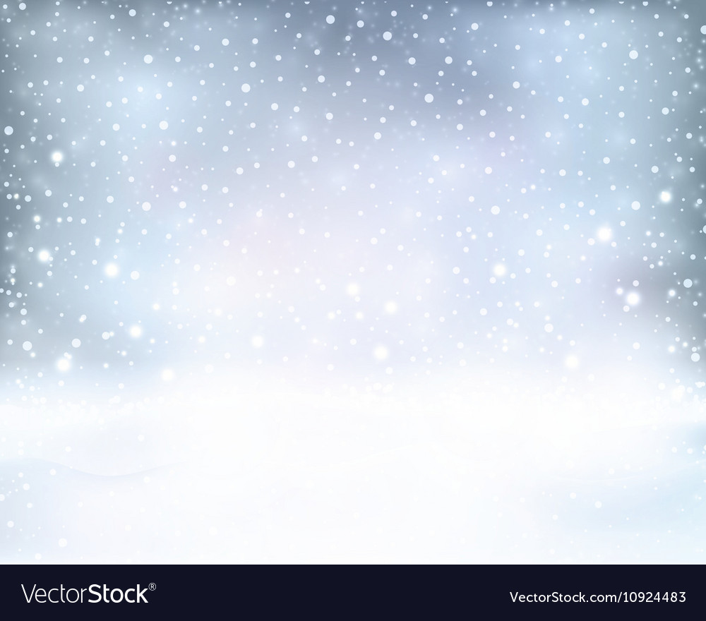Silver blue winter Christmas background
