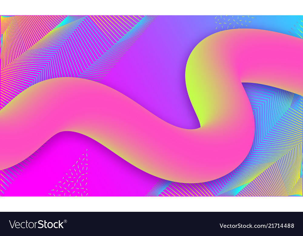 Geometric abstract background liquid background