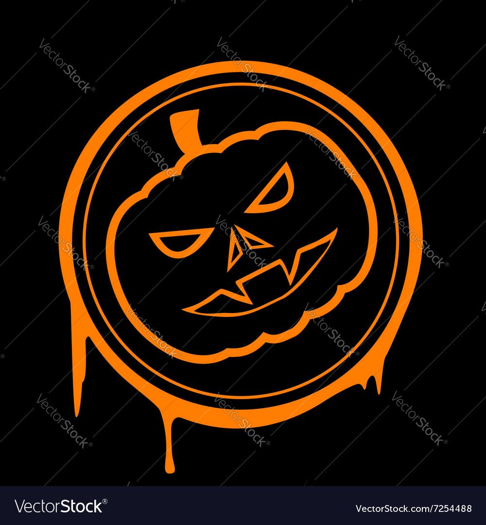 Halloween pumpkin Stock