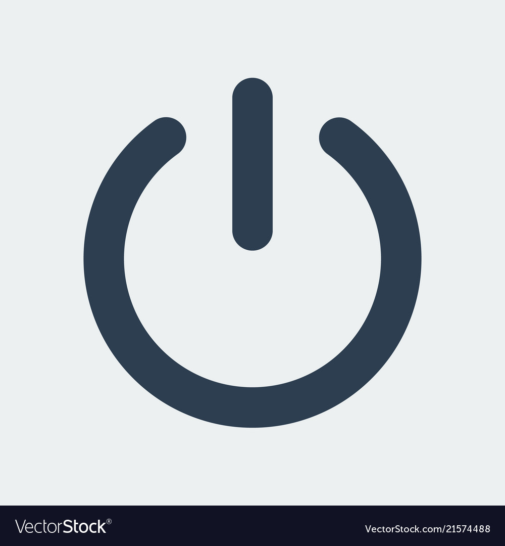 Power turn off icon
