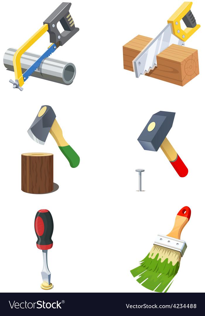 Tools Set of icon
