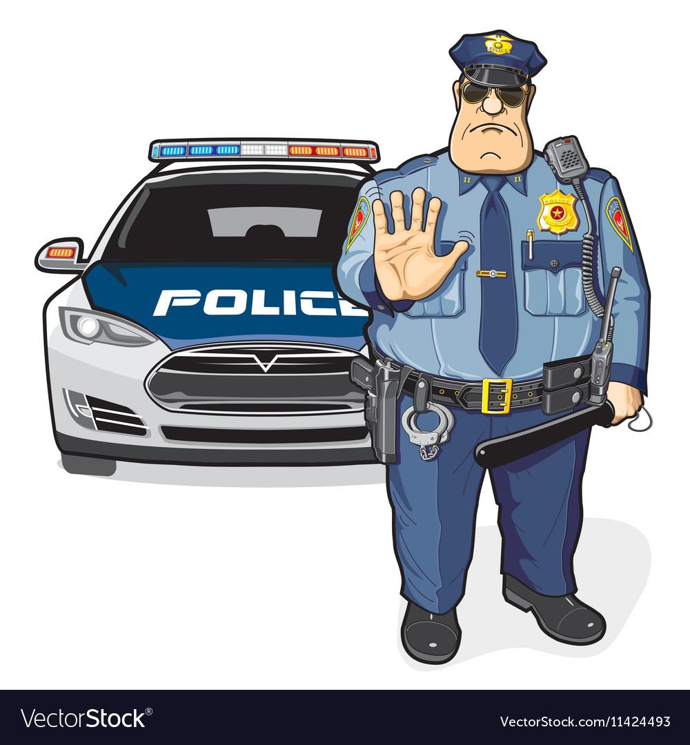 Police patrol sheriff