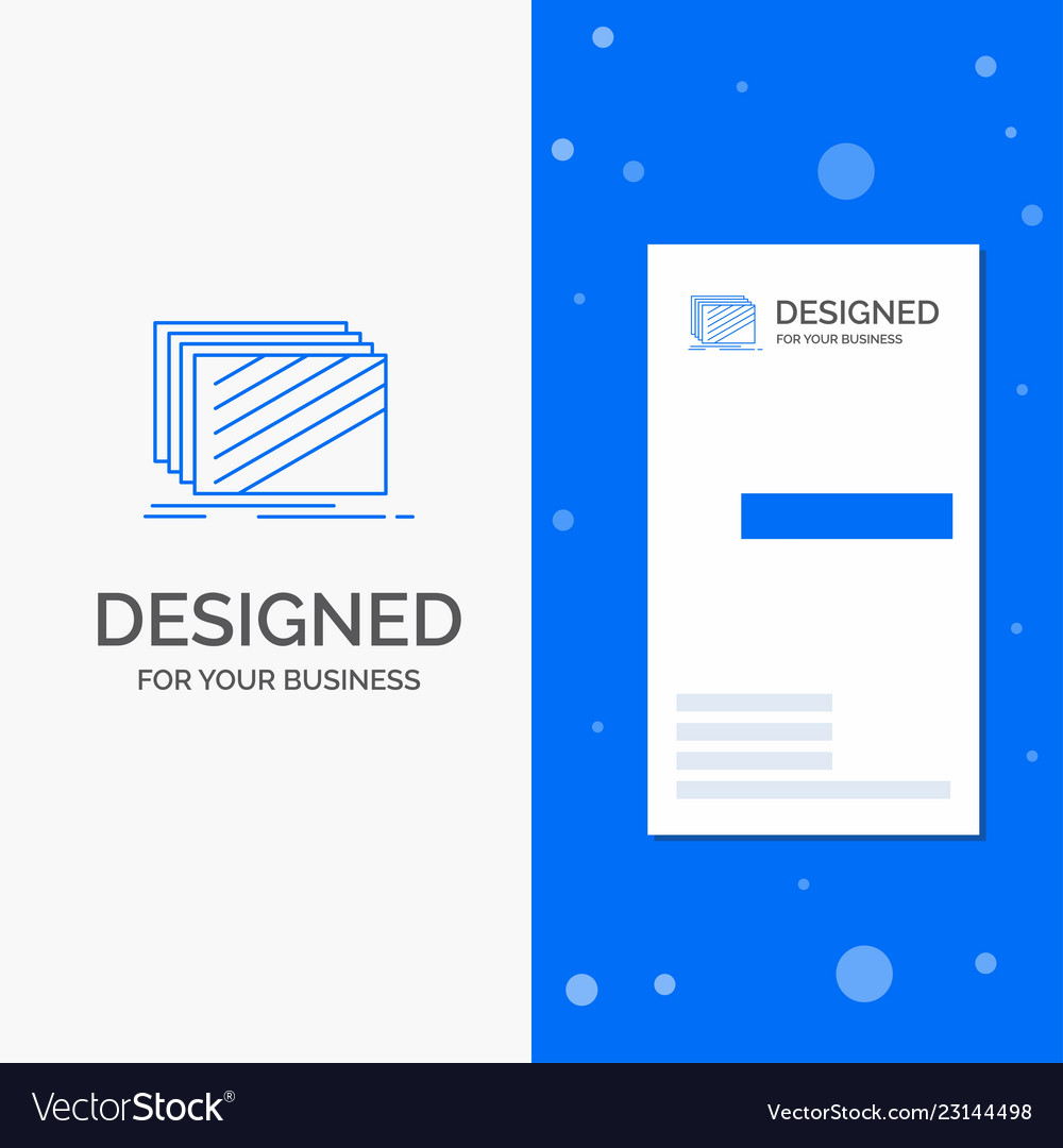 Business logo for design layer layout texture