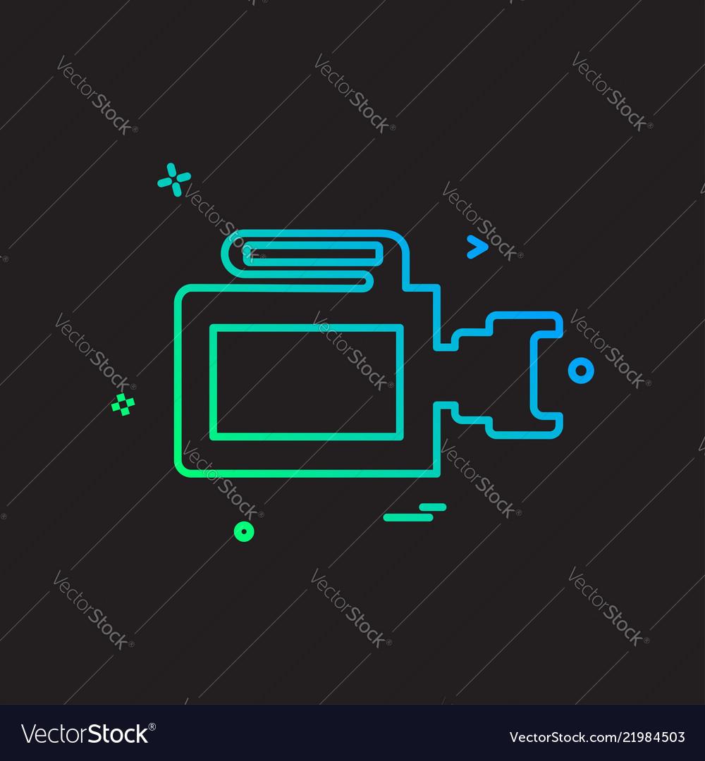Camera icon design Royalty Free Vector Image - VectorStock