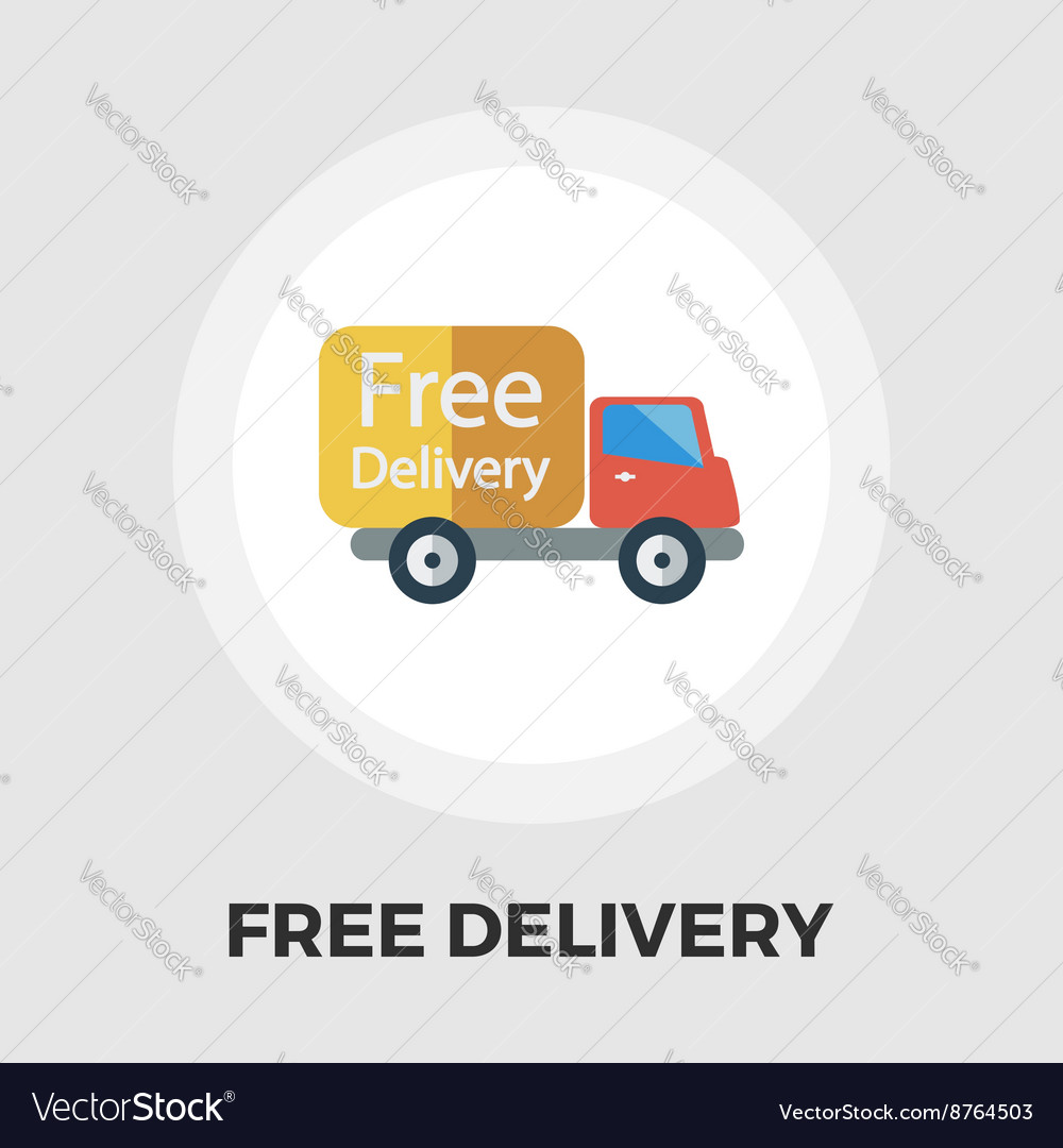 Delivery Car flat icon