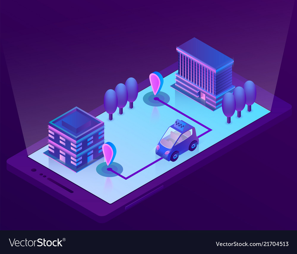 Isometric smart car technology for