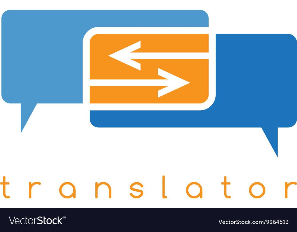 Web translator with arrows
