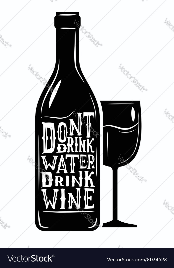 Black wine icon