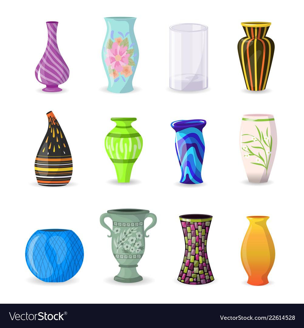 Vase decorative ceramic pot and decor