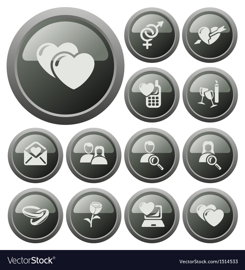Dating metal buttons