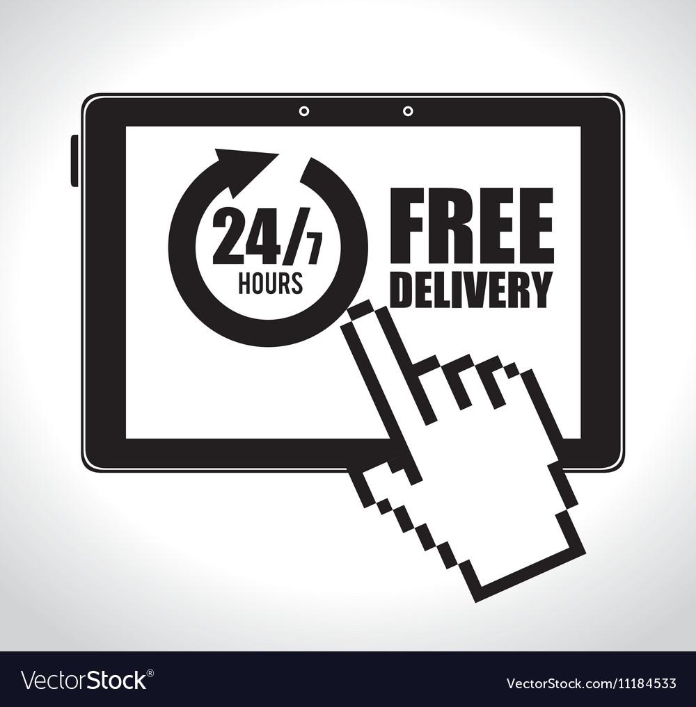 Online E Commerce Delivery Service 24 7 Design