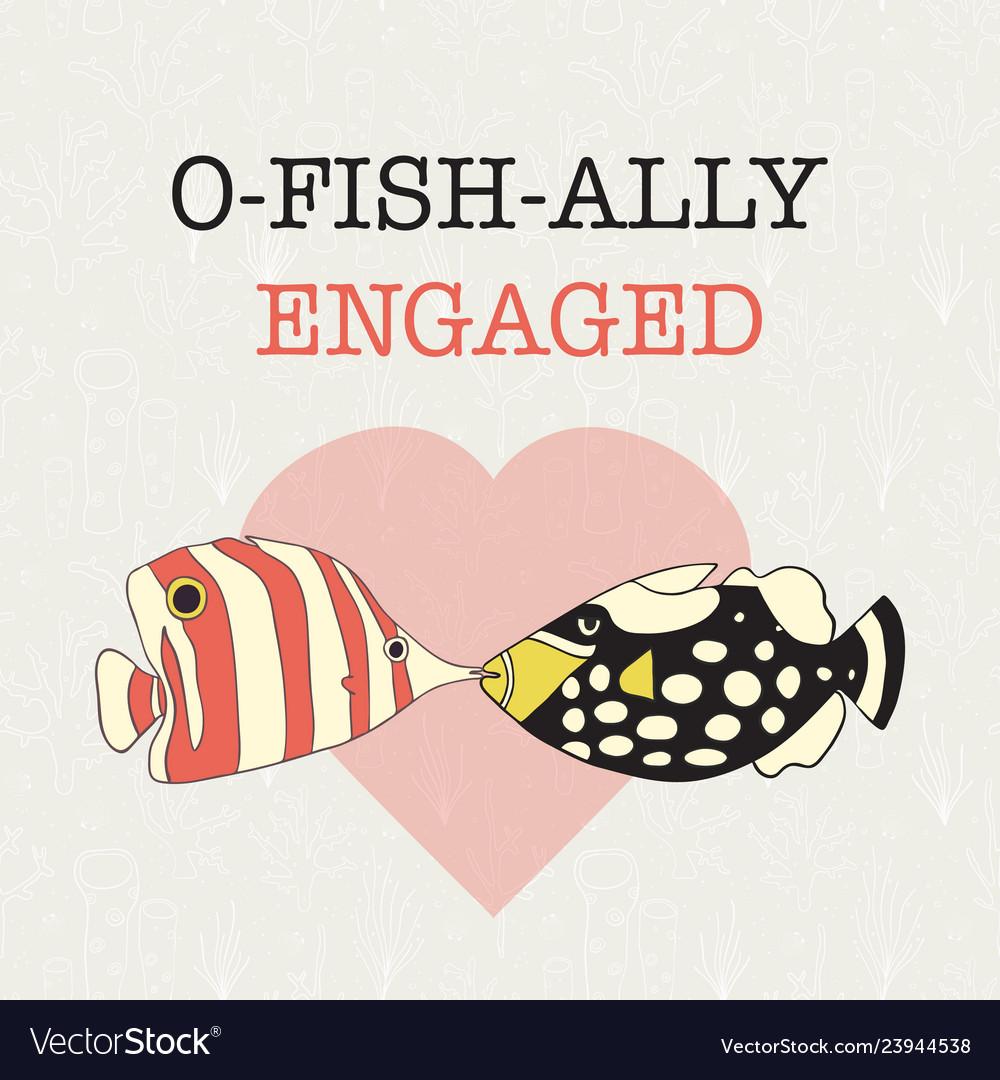 Engagement announcement banner fun