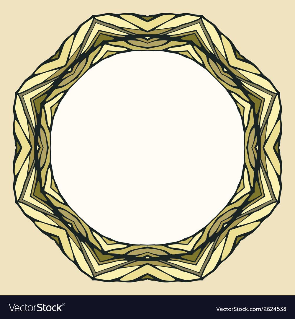 Ethnic round mandala ornamental background