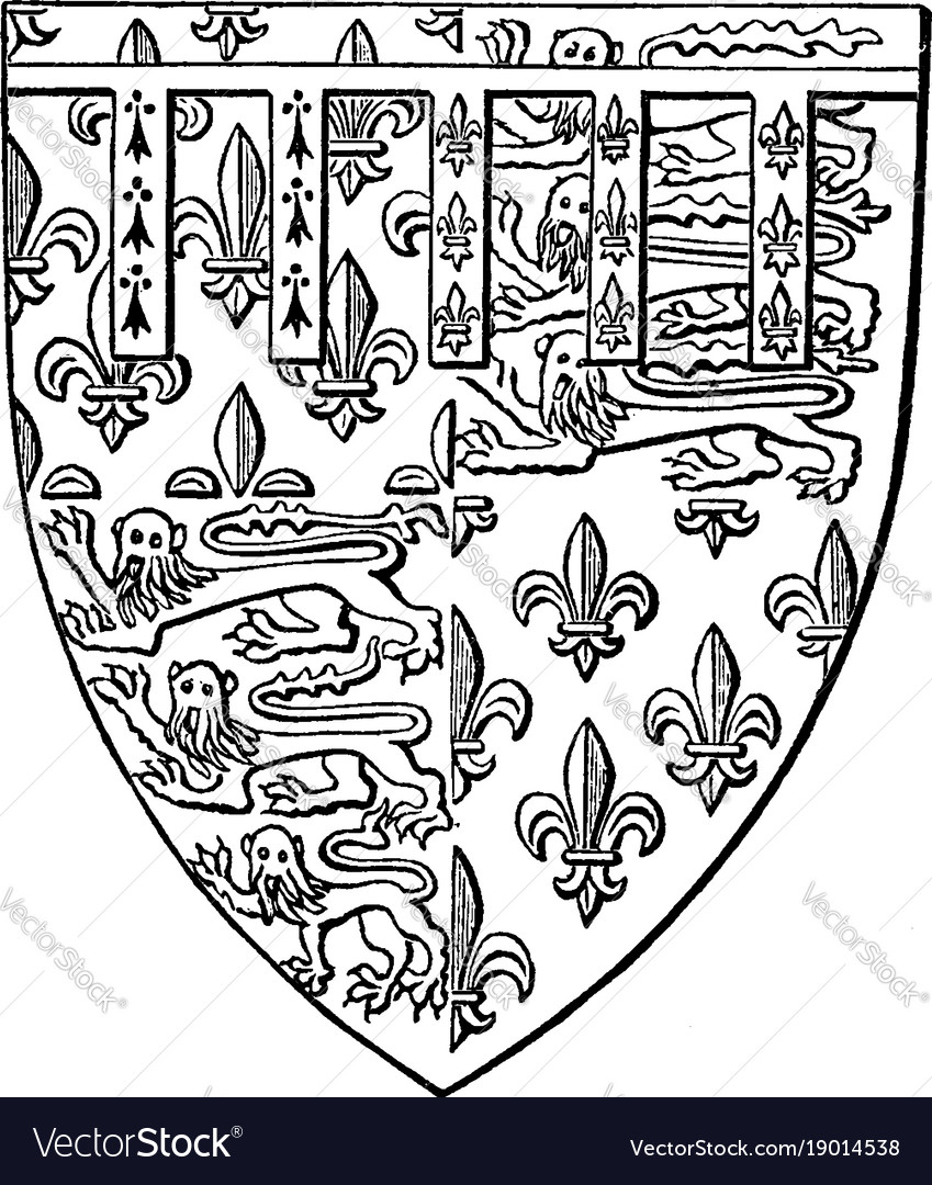 Shield of henry plantagenet of bolingbroke