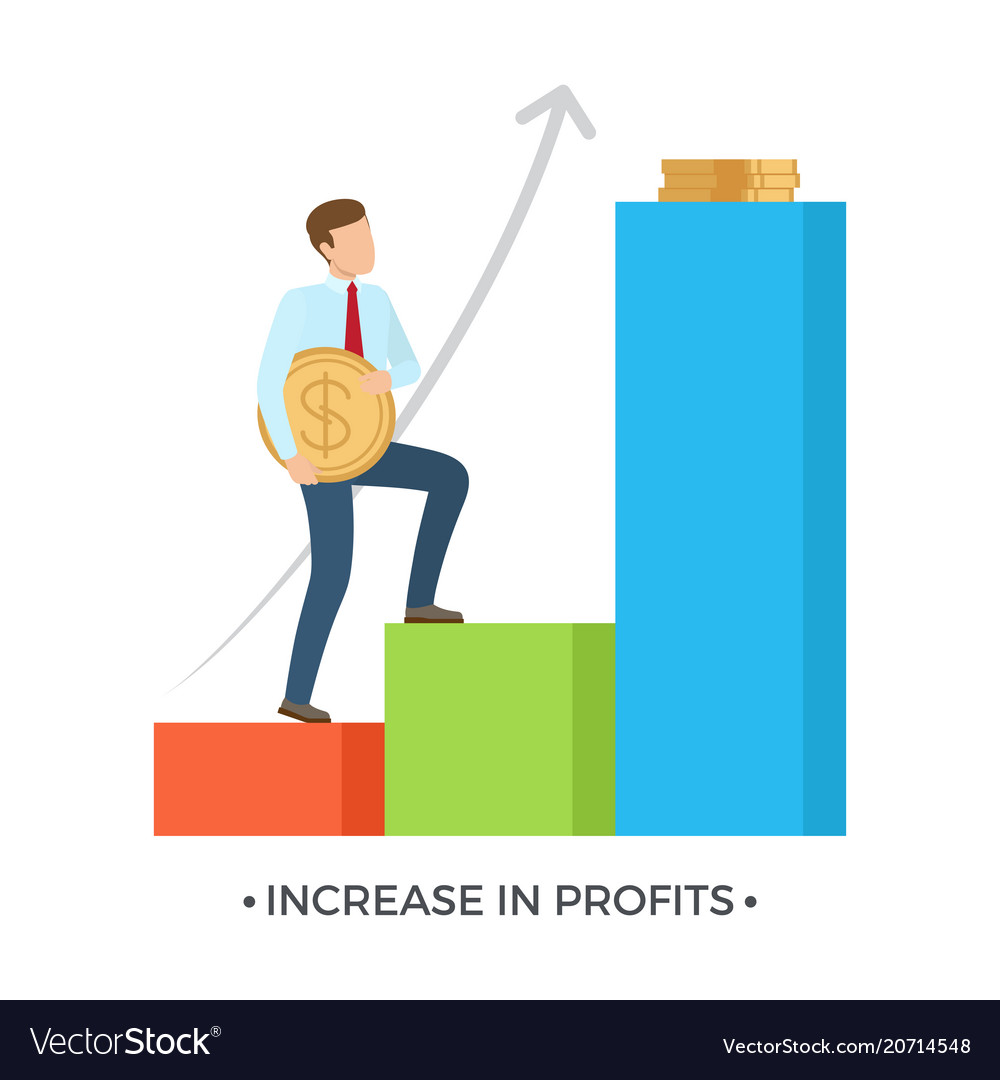 Increase in profits on white