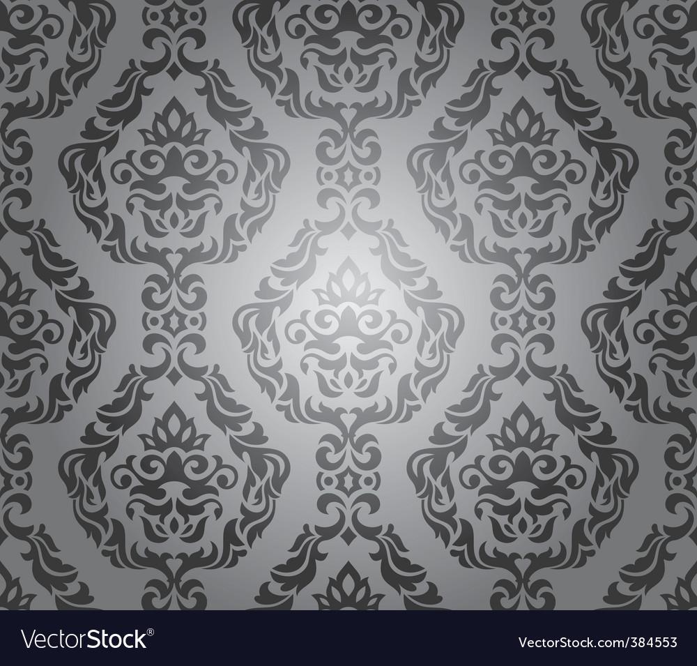 Decorative Wallpaper Design Vector Image