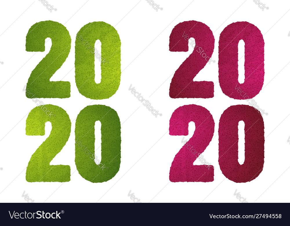2020 green grass