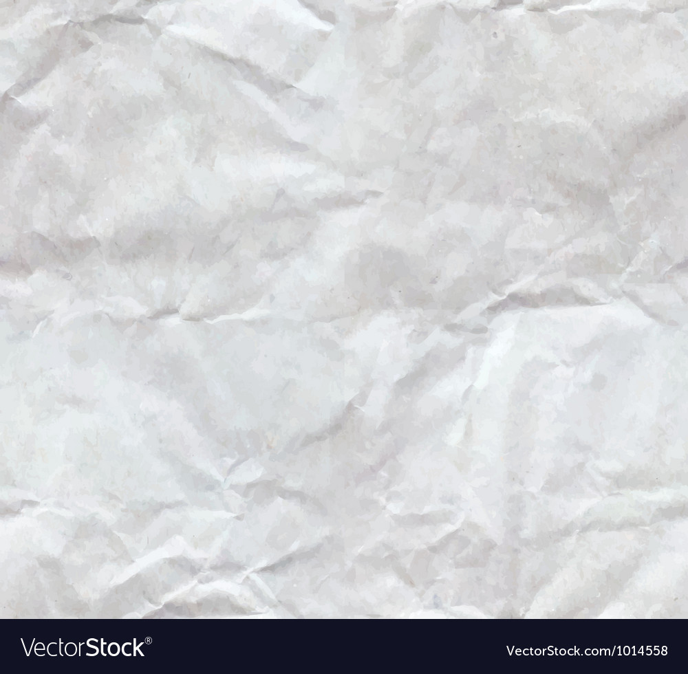 Crumples paper seamless vector image